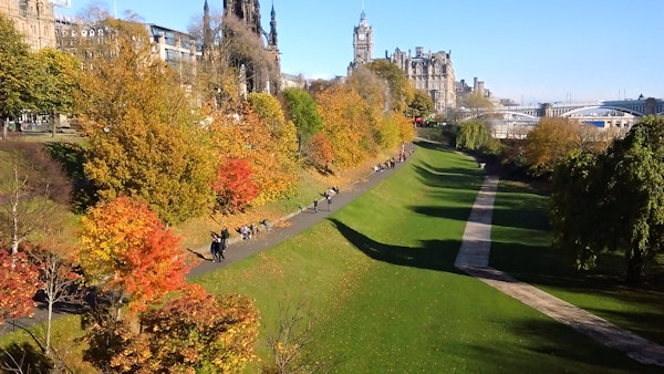 East Princes St gardens