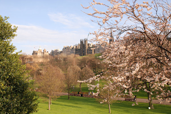 West Princes St gardens