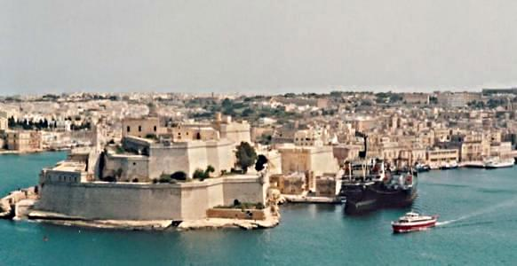Fort St. Angelo and Birgu
