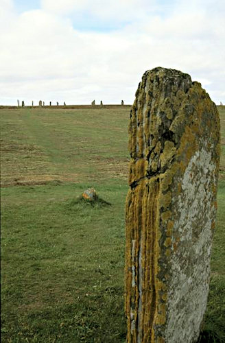 Comet Stone near Brodgar