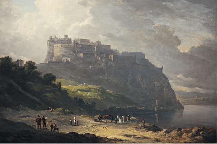 Edinburgh Castle and the Nor' Loch